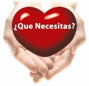 que necesitas?
