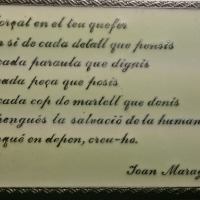 Elogio del vivir (Joan Maragall)